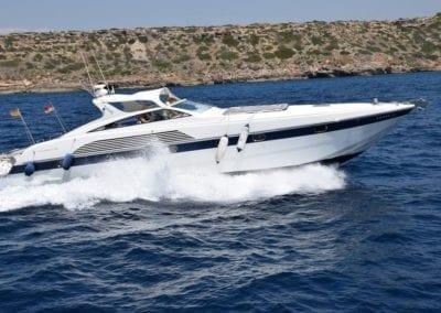 mydaycharter.com Mallorca Yachtcharter Alfamarine Fahrt auf See
