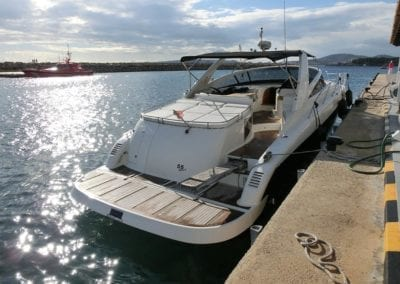 mydaycharter.com Mallorca Yachtcharter Pearl im Hafen