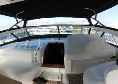 mydaycharter.com Mallorca Yachtcharter Pearl Cockpit